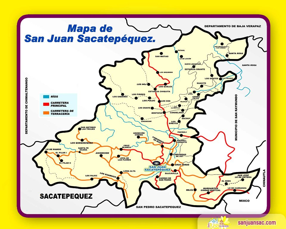 san juan sacatepequez chat San juan sacatepéquez (spanish pronunciation: [saŋ ˈxwan sakateˈpekes]) is a municipality in the guatemala department of guatemala, northwest of guatemala cityaccording to the 2002 census, it had a population of 81,584.